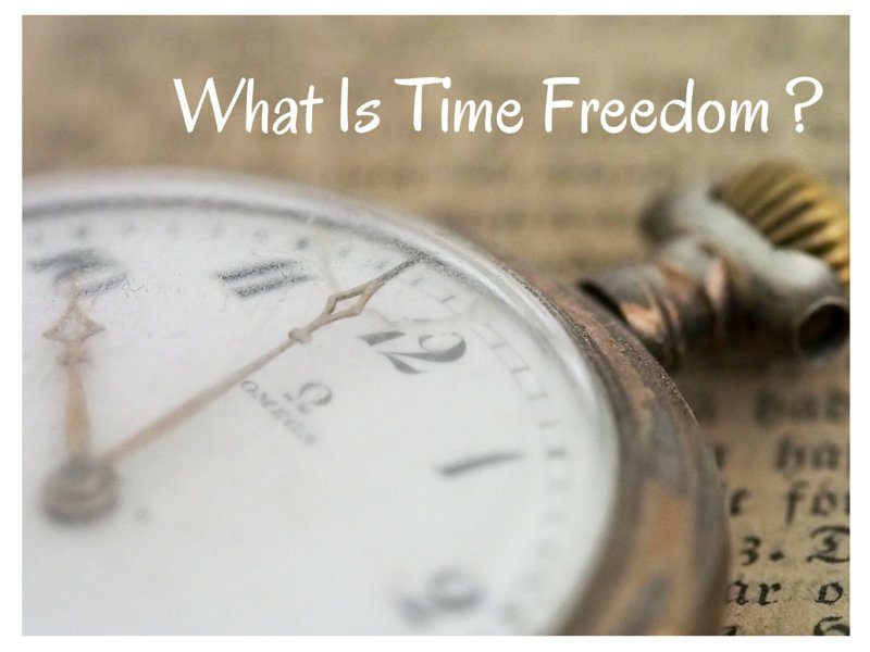 What Is Time Freedom?