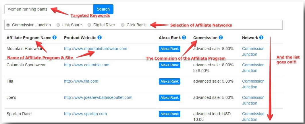 How To Search For Affiliate Programs With Jaaxy