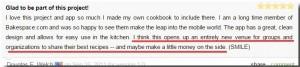 Cookbook Cafe Review