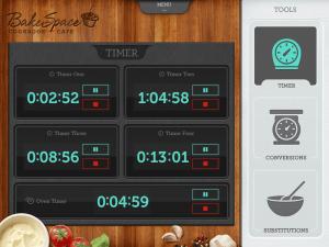 Cookbook Cafe Timer