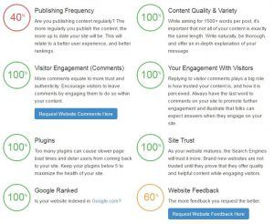 SiteRubix - The Health Indicators Of A Website