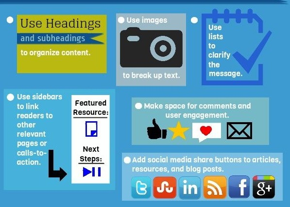 Infographic - Elements That Make Up a Good Website