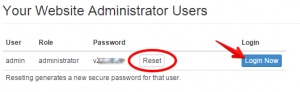 Secured Password Feature by SiteRubix