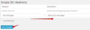How to do 301 redirect