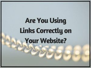 Are You Using Links Correctly on Your Website