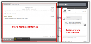 Zopim Live Chat User Interface