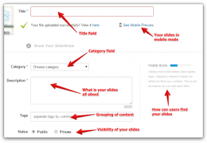 How To Upload SlideShare