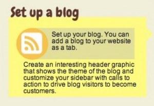Infographic - Set Up a Blog