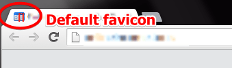 The Default Favicon on Your Website