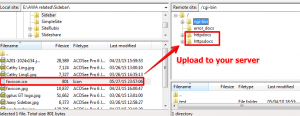 How to Upload Favicon with FTP