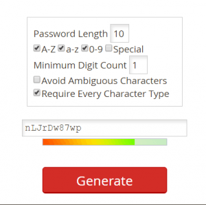How to Generate Strong Password