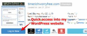 Easy Access to My WordPress Website