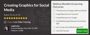 Webinar - Creating Graphics for Social Media
