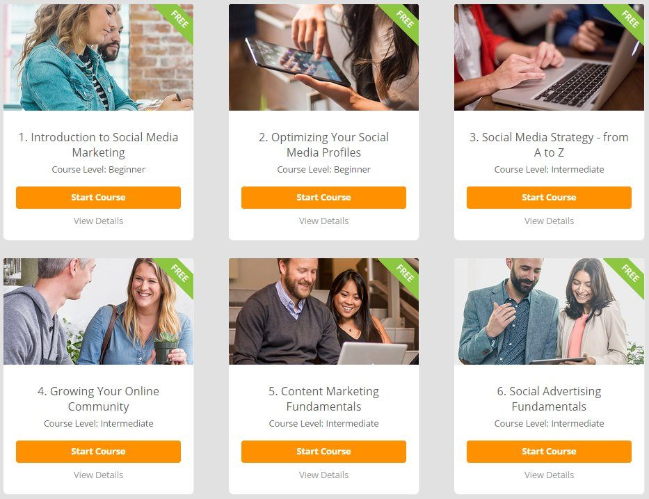How to Improve Social Media Presence for Business - 6 Free Courses in Podium