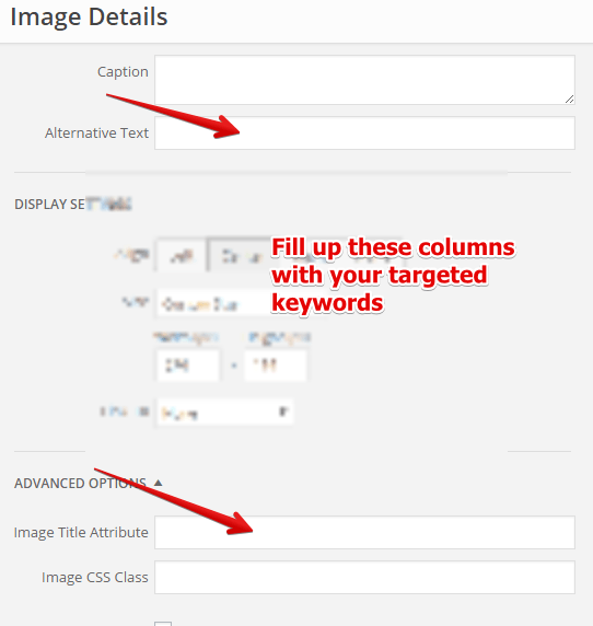 Alt Text and Image Title Attribute in WordPress