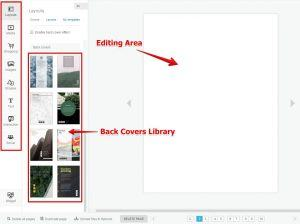Make Your Own Stylish eBook for Free on Flipsnack Editing Board