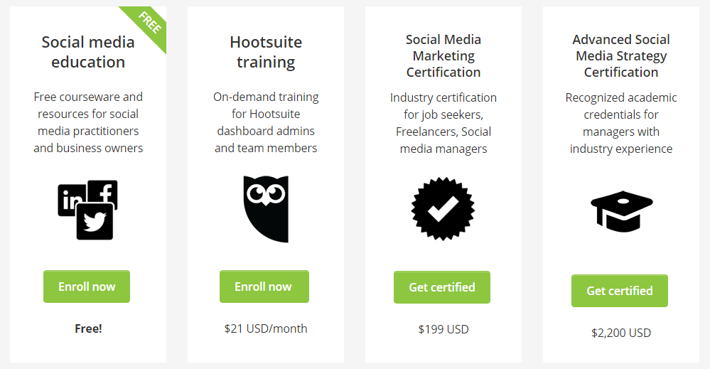Pricing Plan for Social Media Education Courses