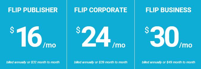 FlipSnack Pricing Plan
