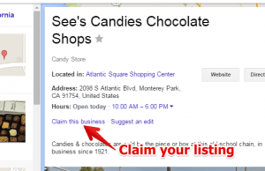 Claim Your Business Listing on Google