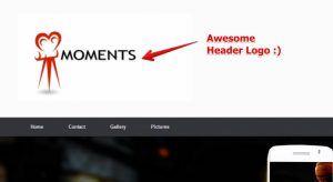 Adding a Logo to a Website