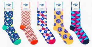 Colorful Men's Socks by Soxy