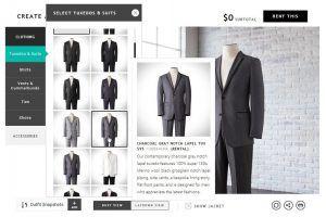 Online Suit Customization by Tux Generation