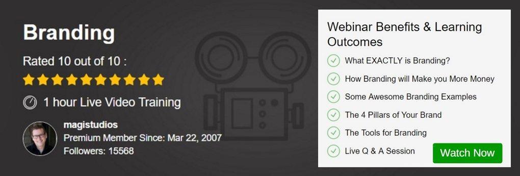 Webinar - Branding