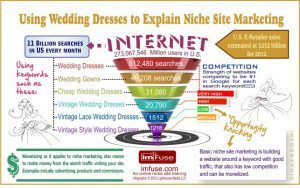 Niche Site Marketing Infographic