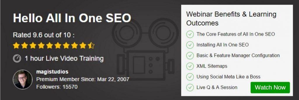Webinar - All In One SEO