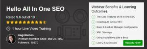 Webinar - All In One SEO