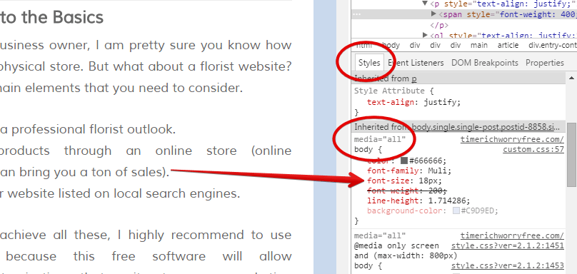 Inspect Web Element With Chrome Browser