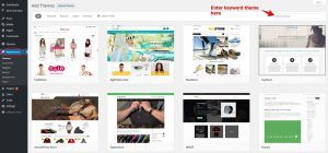 WordPress Theme for Online Stores