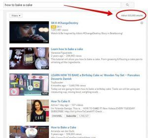 Example of YouTube Videos