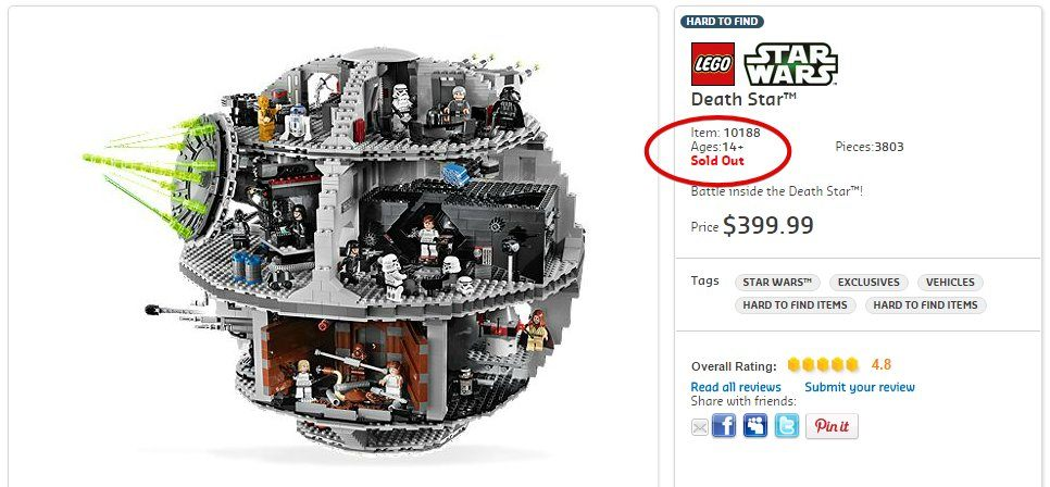 The Death Star Lego
