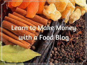 Make Money with a Food Blog