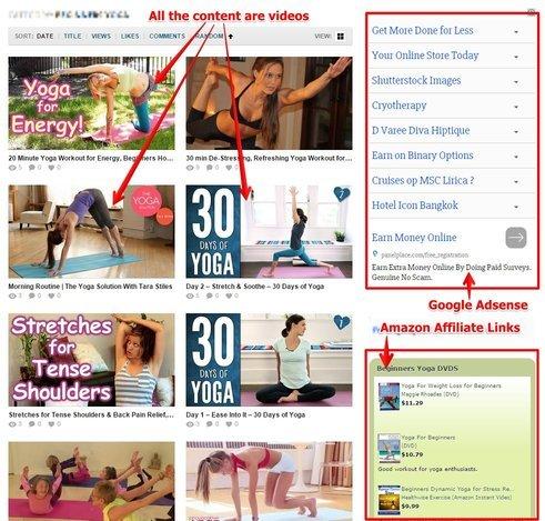 Example of Starter Sites on Flippa