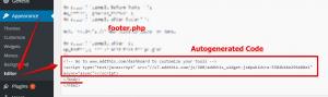 Embed AddThis Code on WordPress Website