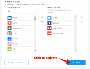 Sidebar Personalization With AddThis