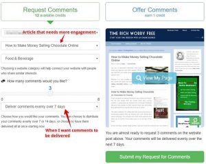 Use SiteComments for Blog Engagement