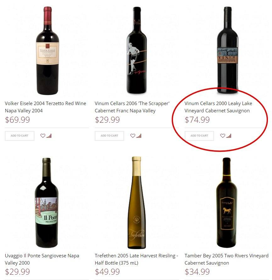 WineTasting eCommerce Site