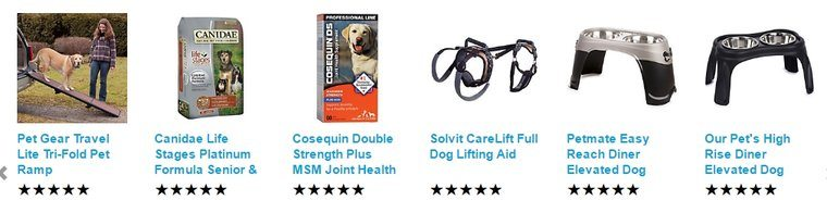Petco Products For Senior Dogs