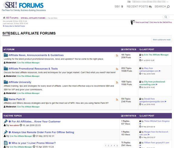 SiteSell Forum