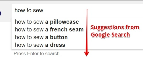 Google Search Ideas