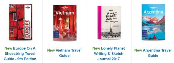 Lonely Planet Online Store