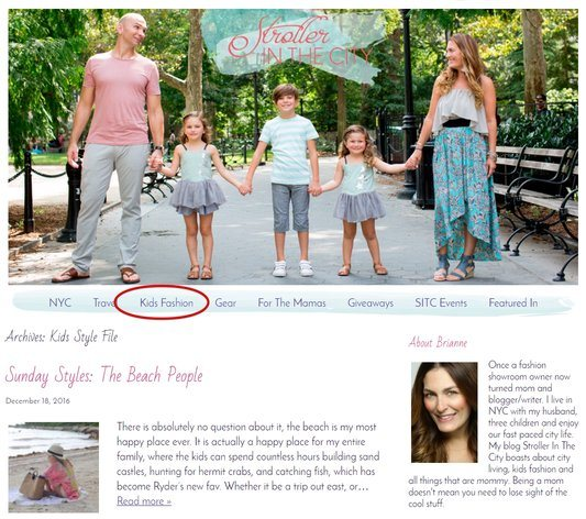 A Mommy Blogger Site