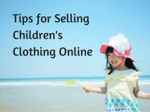 How to sell clothes online tips