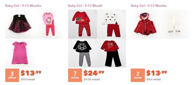 how to sell children's clothing online through used stores