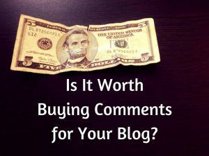 Want To Buy Comments for Your Blog
