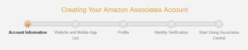 Amazon Sign-up Process
