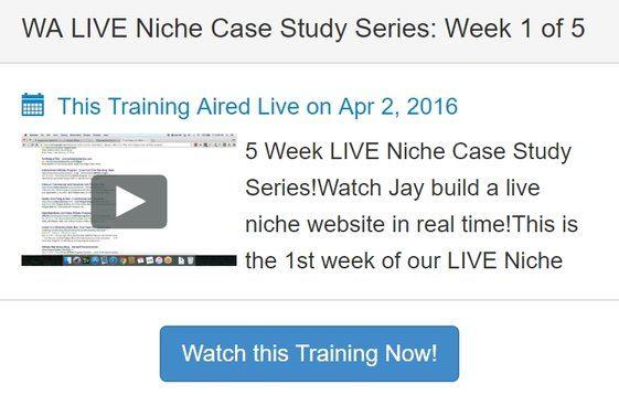 WA Live Niche Case Study